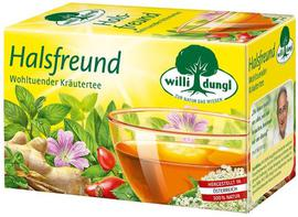 Halsfreund Kräutertee Willi Dungl