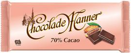 Manner Schokolade Chocolade 70% kakao