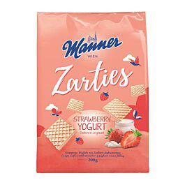 Manner Zarties Erdbeer-Joghurt