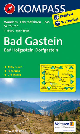 Bad Gastein Karte Kompass