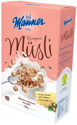 Manner Müsli Knusper