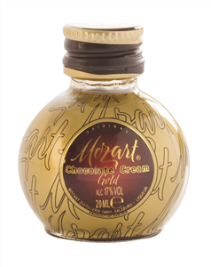 Mozart Chocolate Cream Likör Gold 20ml