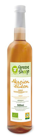 Bio Akazienblüten Sirup Green Sheep 0,5l