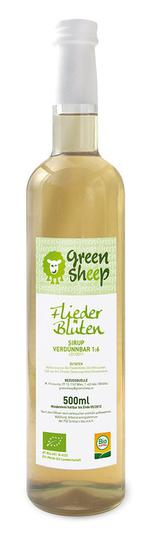 Bio Fliederblüten Sirup Green Sheep 0,5l
