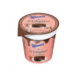Manner Schokoglasur für Sachertorte